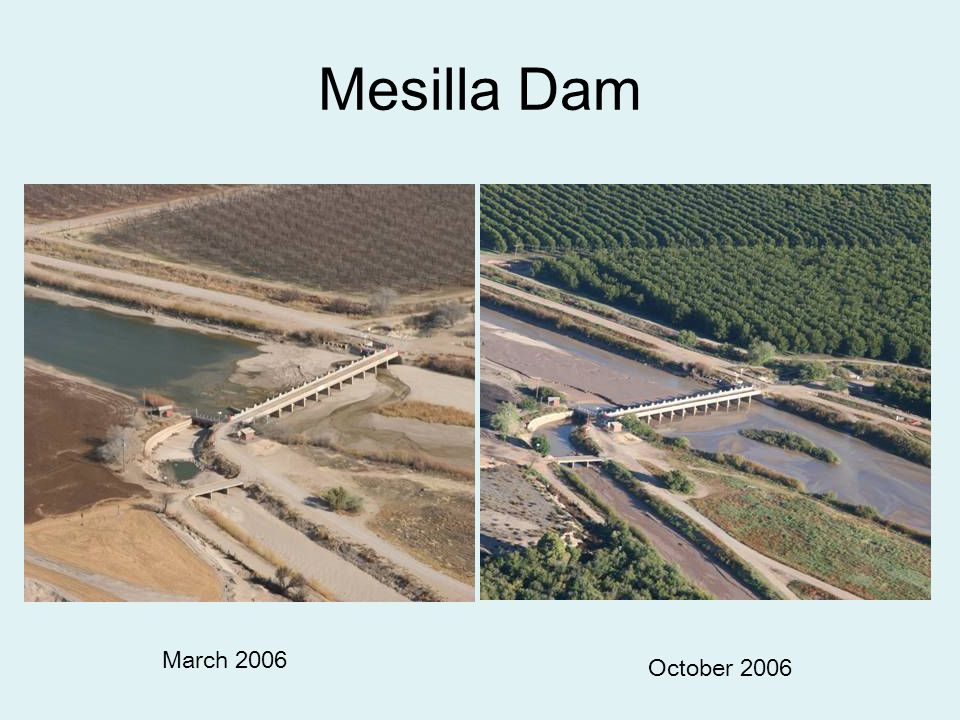 Conclusions Stream flow is the result of the water delivery network Design scenarios developed –within existing river management –with minor adjustments –rethink some policies Rio Grande Restoration Committee