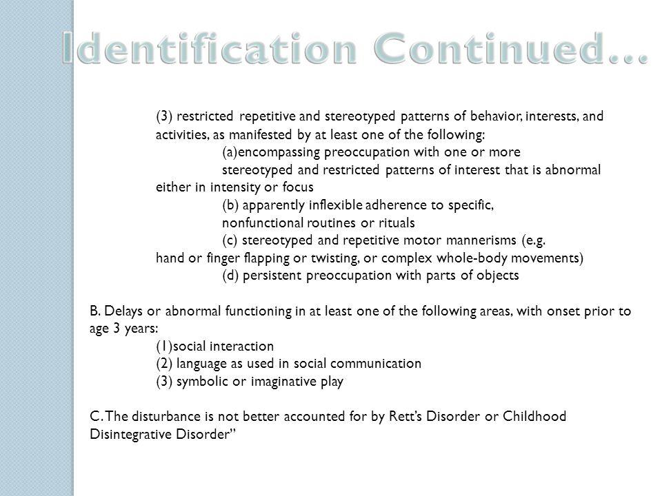 Child develops normally prenatal and perinatal.