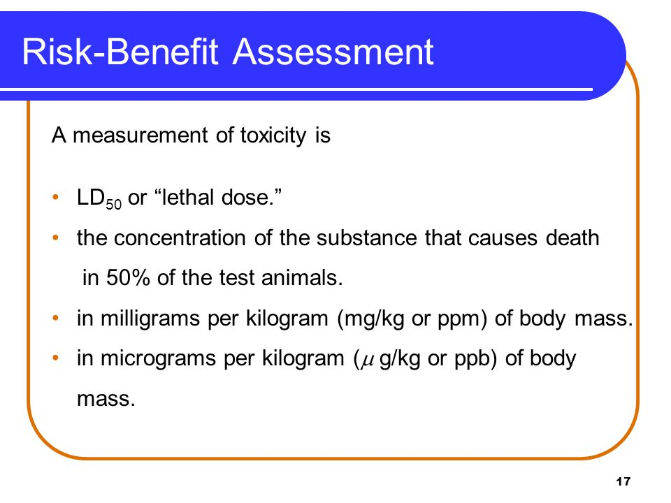 Learning Check The LD 50 for aspirin is 1100 ppm.