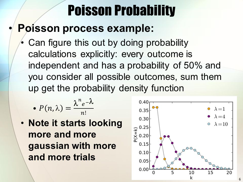 Using Probability Distributions 7