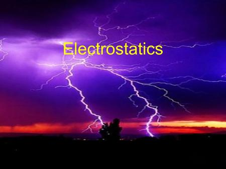 Electrostatics. Electric Charges: the basis of electricity is charge. The charge on an atom is determined by the subatomic particles that make it up.