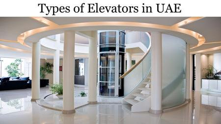 Elevator Suppliers and Parts in Sharjah