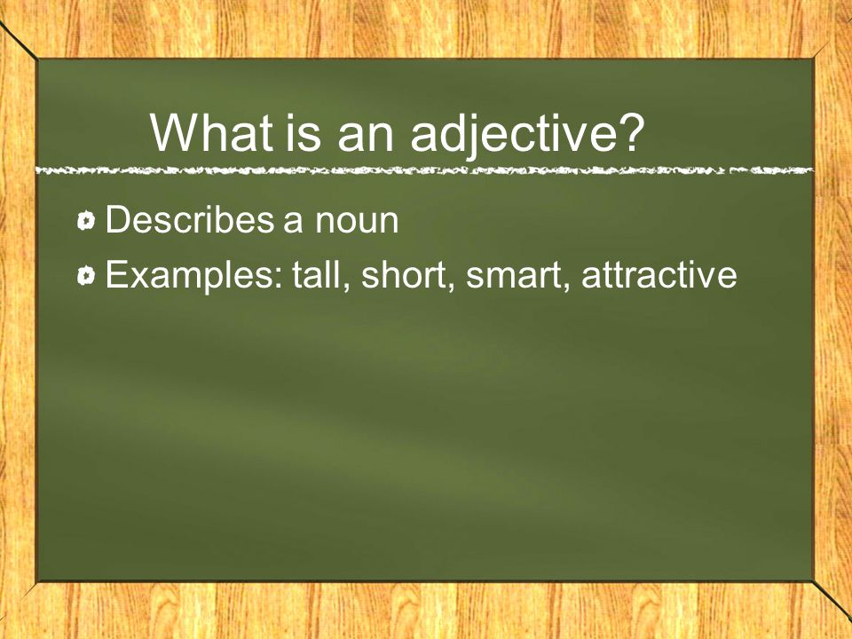 Spanish adjectives In Spanish, adjectives must agree in… –Gender: Are we describing a masculine or feminine thing.