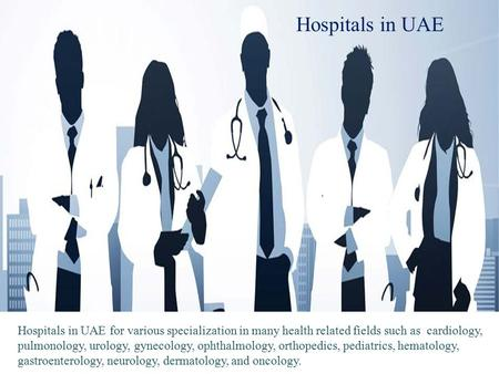 Dental Clinics and Hospitals in UAE