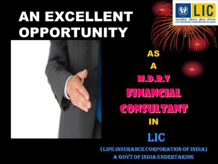 AN EXCELLENT OPPORTUNITY. YOUR DREAMS Best CLOTHS Best CAR Best HOUSE Best MOBILE.