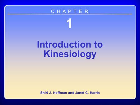 introduction to kinesiology hoffman pdf