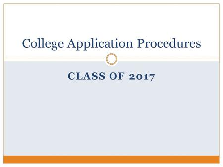 CLASS OF 2017 College Application Procedures. ELECTRONIC SUBMISSION OF COLLEGE MATERIALS & NAVIANCE E-DOCS Tenafly High School uses Naviance E-Docs to.