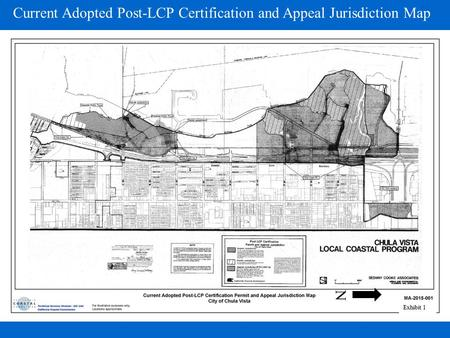 N Current Adopted Post-LCP Certification and Appeal Jurisdiction Map Exhibit 1.