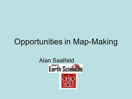 Opportunities in Map-Making Alan Saalfeld. April 20-22, 2007Computational and Conformal Geometry2 Cartographers can make maps that: Preserve all angles.
