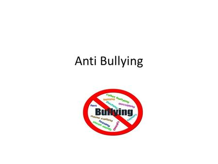 Anti Bullying. Introduction This Webquest is designed to help students understand bullying. They will explore statistics on bullying, the types of bullying,