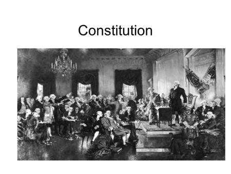 Constitution. Breakdown Preamble Seven Articles Twenty-Seven Amendments –1-10 are the Bill of Rights –13-15 are the Civil War Amendments –15, 19, 23,