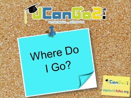 Where Do I Go?. What is ? o A college access program for high school and middle school students and parents o Provides information on how to plan, prepare.