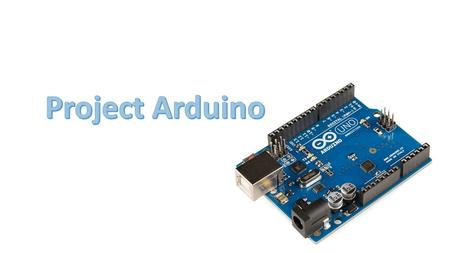 What is Arduino? It's an open source electronics prototyping platform: Open source: resources that can be used, redistributed or rewritten free of charge,