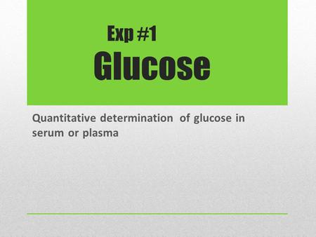 quantitative glucose test A fasting plasma glucose test to assess for  are placed into an algorithm that generates an objective and quantitative score to  clinical diabetes.