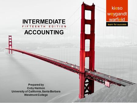 9-1 Prepared by Coby Harmon University of California, Santa Barbara Intermediat e Accounting Prepared by Coby Harmon University of California, Santa Barbara.
