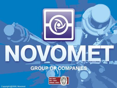 Novomet. BOOSTER PUMPING SYSTEM.