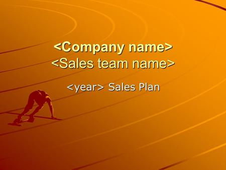 Sales Plan Sales Plan. Agenda Introduction Sales Situation Strategic Positioning Sales Objectives Sales Forecast Sales Model Sales Budget Timeline Key.