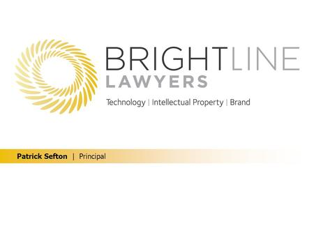 Patrick Sefton | Principal. Protecting design IP Copyright Registered trade marks Passing off / unregistered trade marks Registered designs Registered.