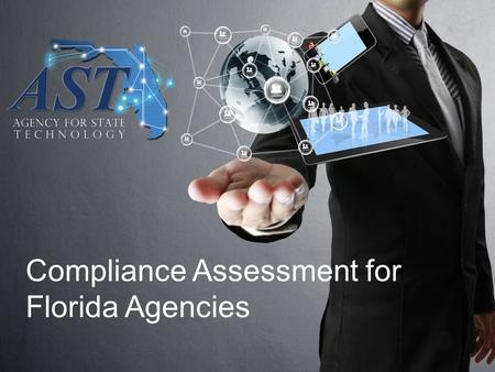 Compliance Assessment for Florida Agencies. Florida Information Technology Project Management and Oversight Standards 2 Section (3), F.S. By June.