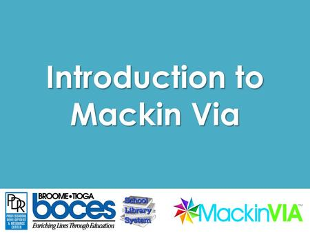 Introduction to Mackin Via. What is Mackin Via? Photo Credit: Flickr CC