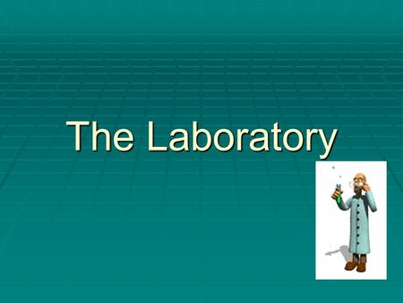 The Laboratory. Safety Rules Always…   Follow the teacher's instructions   Push in chairs and keep walkways clear during experiments   Wear safety.
