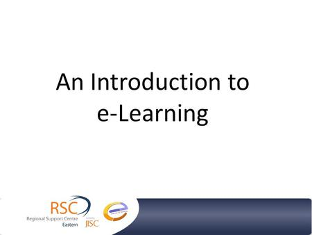 An Introduction to e-Learning. What is the Difference between IT, ICT and E-Learning? Why is it so important to promote E-Learning? How do I start using.