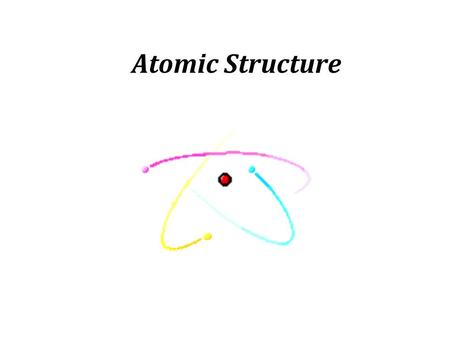 Atomic Structure. What are the 3 major parts of an atom? Proton Neutron Electron.
