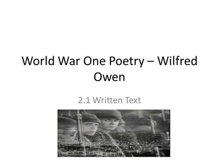 the rear guard poem essay Poetry round 2: war poetry poetry round 3: love poetry  one essay on poem on war but unseen (30 minutes)  poem #8: the rear guard by siegfried sassoon.