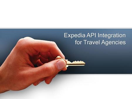 Expedia API Integration for Travel Agencies. Affiliate to travel industry and earn high profits When a merchant offers API to affiliates it's known as.