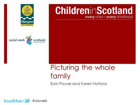 @cisweb Picturing the whole family Eoin Power and Karen Holford.