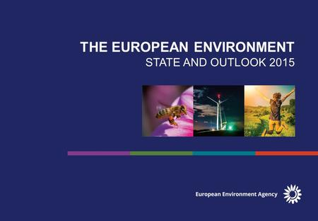 THE EUROPEAN ENVIRONMENT STATE AND OUTLOOK COUNTRY COMPARISONS GLOBAL MEGATRENDS EUROPEAN BRIEFINGS COUNTRIES & REGIONS SYNTHESIS REPORT SOER2015.