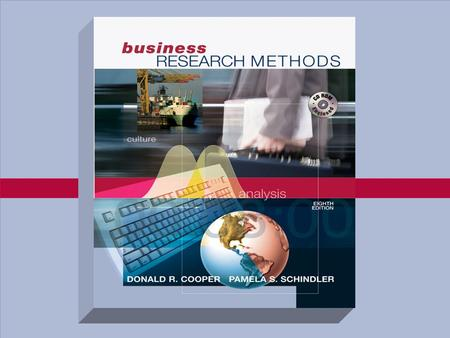 McGraw-Hill/Irwin © 2003 The McGraw-Hill Companies, Inc.,All Rights Reserved. Part Two THE DESIGN OF RESEARCH.