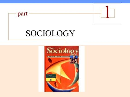 McGraw-Hill © 2005 The McGraw-Hill Companies, Inc. All rights reserved. 1 The Sociological Perspective SOCIOLOGY part 1.