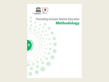 What is meant by methodology and why is it important? Methodology refers to the 'how' of teaching - how teaching and learning is planned, organized, conducted,