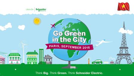 Go Green in the City 2016 Program. page 3 GGitC is Schneider Electric's global business case challenge targeted at Business and Engineering students.