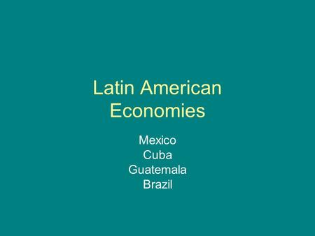 Brexit and possible implications for UK-Latin American Relations