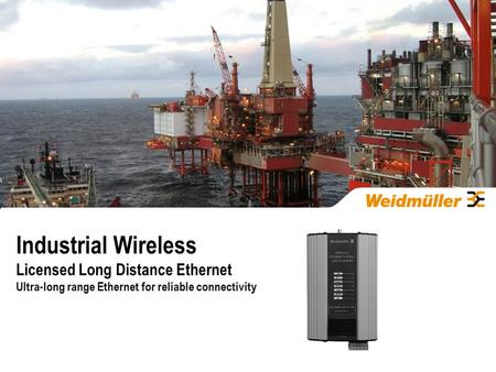 Industrial Wireless Licensed Long Distance Ethernet Ultra-long range Ethernet for reliable connectivity.