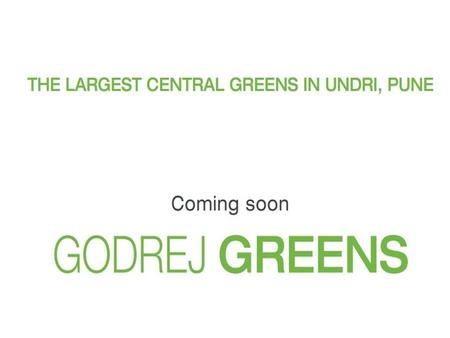 About Godrej Greens o Godrej Greens is a New Launch premium apartment by Godrej Properties. The Project offers Luxury collection of 2 BHK and 3 BHK of.