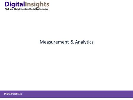 Measurement & Analytics. Resources   marketing-strategy/