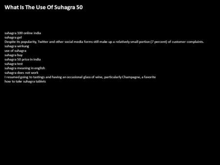 Suhagra 100 Wiki