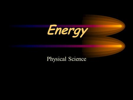 Energy Physical Science. Nature of Energy Energy is all around you. You hear energy as sound, you see energy as light, you can feel energy in wind. Living.