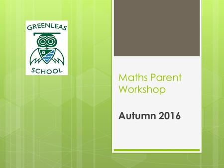 Maths Parent Workshop Autumn (Mention raffle ticket!!) Aims The national curriculum for mathematics aims to ensure that all pupils: become fluent.