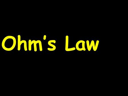 Ohm's Law. Georg Simon Ohm born March 16, 1789, Erlangen, Bavaria [Germany]—died July 6, 1854, Munich German physicist who discovered the law, named after.