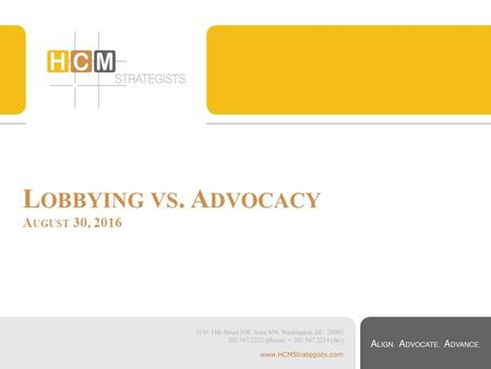 Integrating Advocacy into your Direct Service Organization Using Your Whole Team. - ppt download