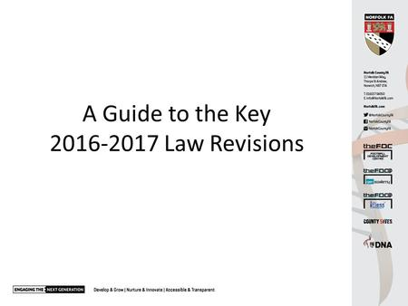 A Guide to the Key Law Revisions. Law 1 - The field of play Logos permitted on corner flags (previously banned). Mix of artificial and natural.