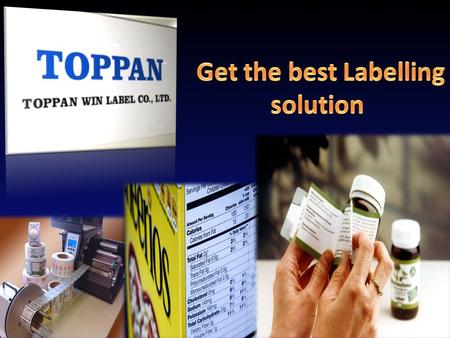 Packaging label  Toppan Win Label activities - We promote self adhesive, sticker & label products in HK & China packaging, Gift & premium exhibitions.