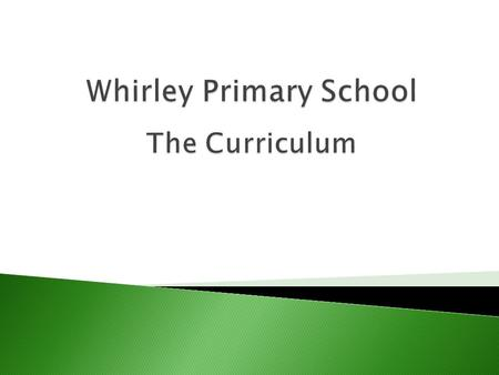  The national curriculum defines the programmes of study for key subjects in maintained primary and secondary schools in England.  Fundamentally it.
