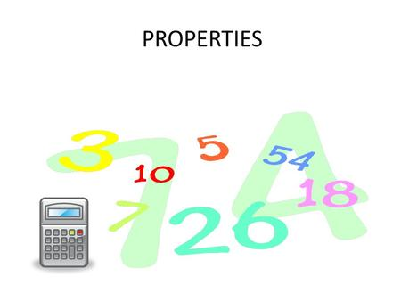 PROPERTIES. ADDITIVE IDENTITY PROPERTY BOOK DEFINITION:FOR ANY NUMBER A, A + 0 = A OWN DEFINITION: THIS PROPERTY SAYS THAT WHEN YOU ADD 0 TO ANY NUMBER.