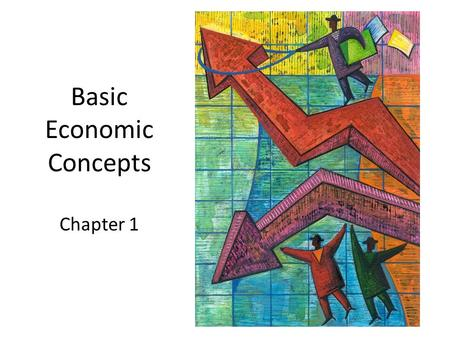"Basic Economic Concepts Chapter 1. Wants and Needs, Needs and Wants NEEDS – ""stuff"" we must have to survive – Food/water, shelter, clothing, transportation."