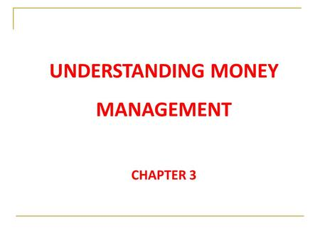 UNDERSTANDING MONEY MANAGEMENT CHAPTER If payments occur more frequently than annual, how do you calculate economic equivalence? 2.If interest period.